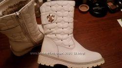 зимние сапоги 27 размер для девочки