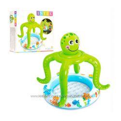 Детский надувной бассейн Осьминог