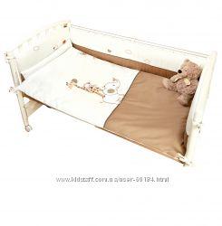 Детский постельный комплект 6 эл. Piccolino Di Lusso, Италия  подарок
