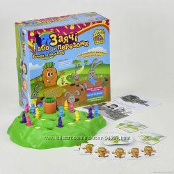 настольная игра Заячьи гонки или Битва за морковку от Fun Game