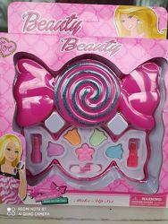 косметика детская набор конфета, раскладывается, яркая, красивая