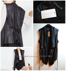 Стильная Черная жилетка от ZARA
