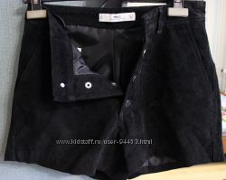 Замшевые шорты MANGO