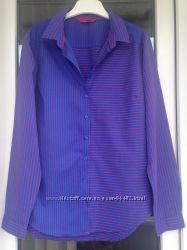 Next красивая интересная рубашка размер М