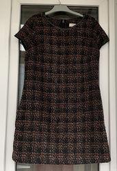 Распродажа Next тёплое платье с шерстью С-М