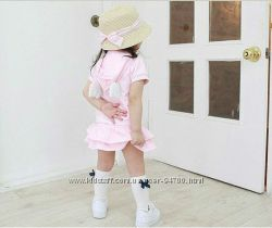 Коплект для девочки юбка и кофта с крылышками 110р.