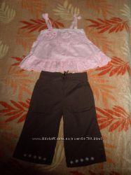 Летний костюмчик для принцессы на 3 года
