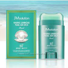 Скидка JM Solution Marine Luminous Pearl Light Sun Stick SPF50 PA