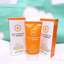 3W CLINIC MULTI PROTECTION UV SUNBLOCK SPF 50