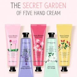 подарочный набор кремов для рук Medi Flower The Secret Garden of Five Hand