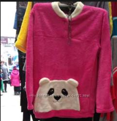 Пижама домашний махровый костюм с мишкой