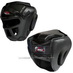 Шлем маска  кожа тренировочный мма бокс RDX. XL  61-66 cм