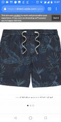 Новые мужские шорты George, Англия, хлопок, в наличии, цена пролета