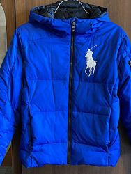 Зимняя куртка пуховик Polo by Ralph Lauren оригинал.