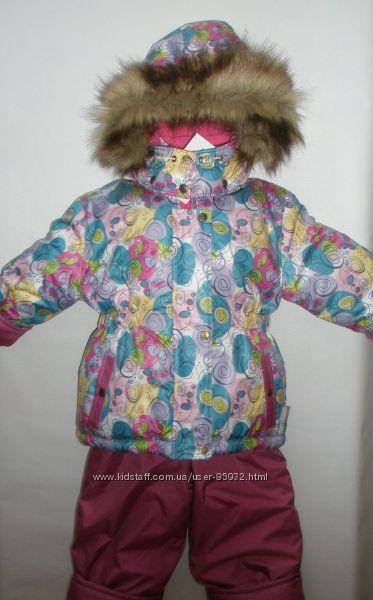 Зимний костюм, ESTO122-128, комбинезон термокомбинезон