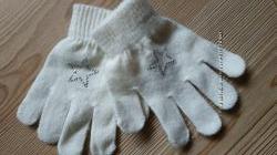 Варежки перчатки 3-6 лет новые и бу