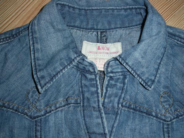 Джинсовые платья  лето 116-122 рост  LOGG