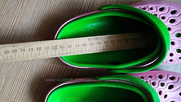 Кроксы 18-19 см длина стельки