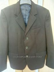 Пиджак школьный мальчику темно-синий