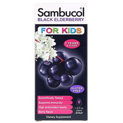 Sambucol, Черная бузина, Сироп для детей, 230 мл