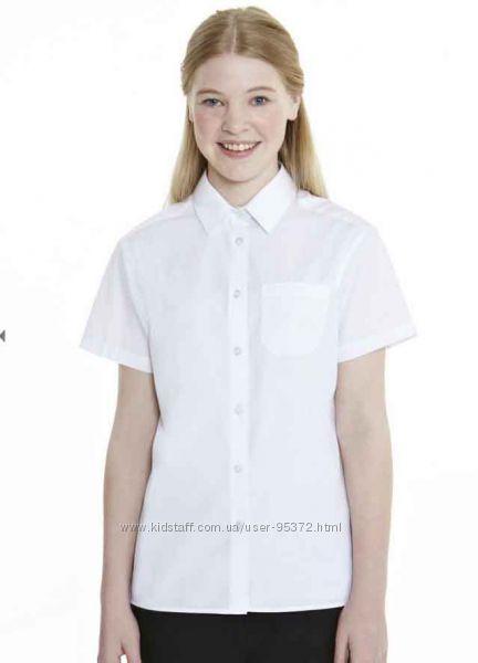 Рубашки и блузы в школу - легкая глажка -Marks&Spence, George, Tesco- Англи