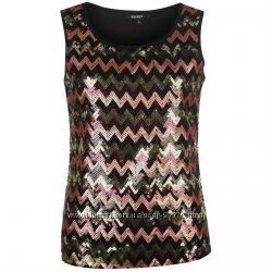 Блуза, блузка с пайетками , футболка со стразами