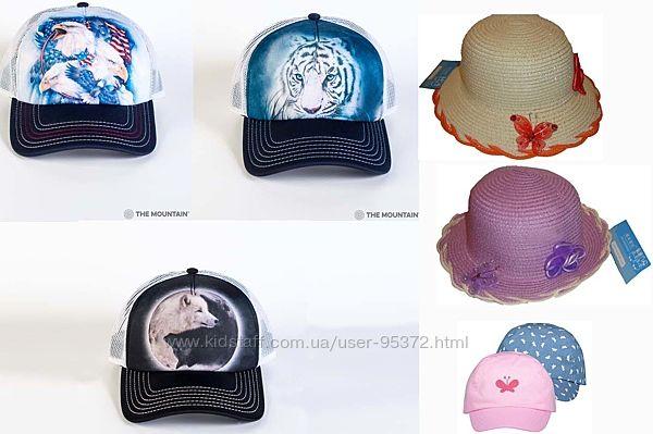 Шляпа соломенная, кепка George, бейсболка 3D The Mountain орел, волк