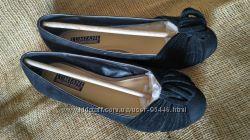 замшевые балетки Lumiani из США, состояние новых стелька 25 см
