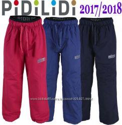 Теплые брюки на флисе из Чехии Pidilidi 116, 122, 128