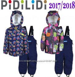Новинка зима 2018 термокомбинезоны раздельные от ТМ Pidilidi