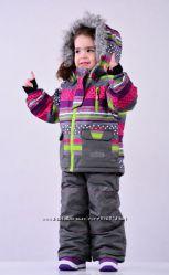 Зимний термокомплект на девочку Pidilidi снежок 98, 104, 110