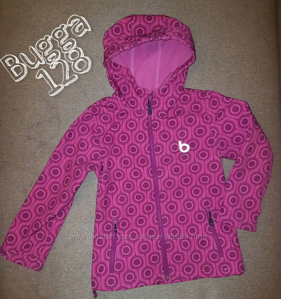 Bugga Soft Shell курточка деми софтшелл, 128 рр