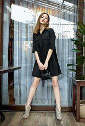 Замшевое платье NK Factory