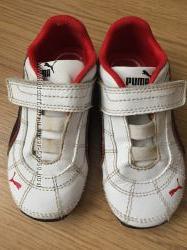 Кроссовки кожаные Puma. Стелька 15, 5 см