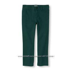 Брюки штаны чиносы зеленые Childrens place - 5, 6, 7, 8, 10 лет