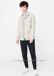 Куртка пиджак в стиле сафари MANGO Man - M, L, XL