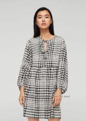 Платье в клетку Mango - XS,  L