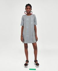 Платье в клетку Zara - XS, S