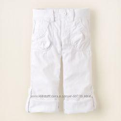 Распродажа - Катоновые брюки-капри от Childrens place на 10-14лет