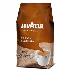 Кофе Lavazza Crema e Aroma 1 кг Оригинал из Италии