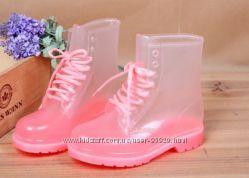 Ботинки силиконовые на дождливую погоду
