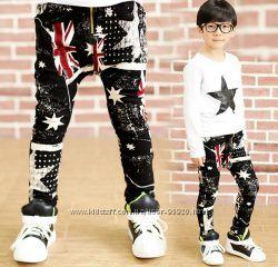 Модные штанишки для стильного мальчишки