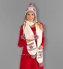Красивый теплый шарф Германия