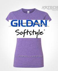 Фирменная футболка Gildan Softstyle Ringspun