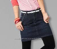 Супер джинсовая юбка Германия