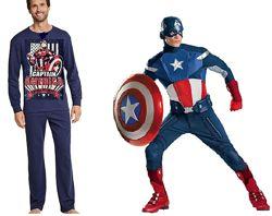 Супер домашний костюм Captain America Германия