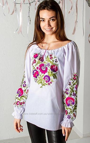 Розкішна блуза вишиванка