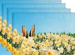Весенний комплект ранер и салфетки Германия