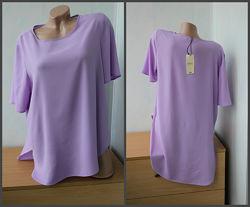 Шикарная блуза с удлиненной спинкой Papaya
