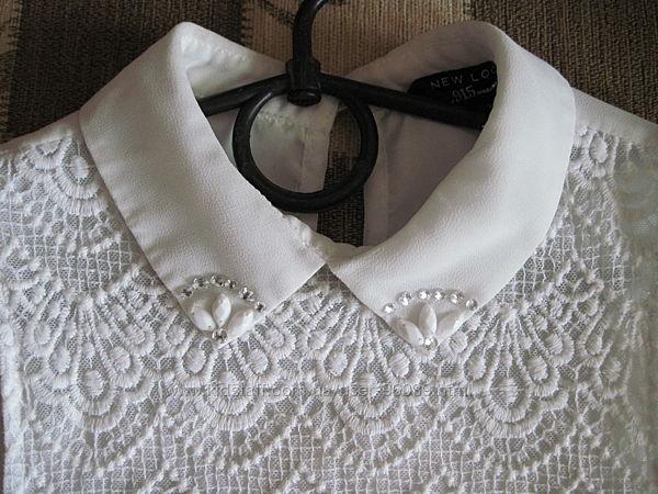 Блуза  девочке на 8-10 лет